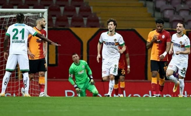 Galatasaray'a kupa şoku