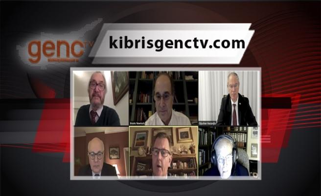 Kıbrıs için çözüm olasılıkları tartışıldı