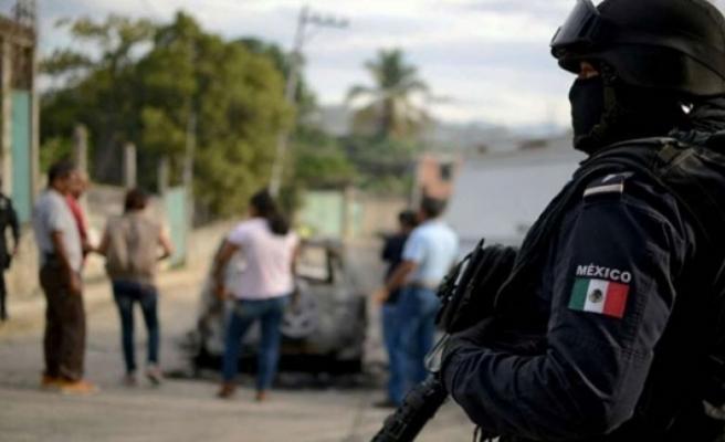 Meksika'da silahlı saldırı