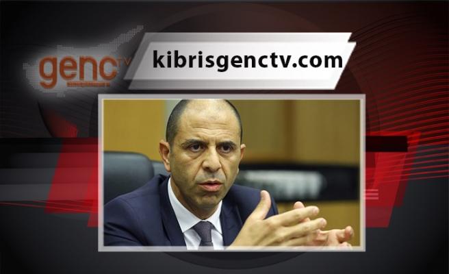 """Özersay: """"Kıbrıs'ta iki devletli çözümü savunuyoruz cümlesinin altı doldurulmalıdır"""""""