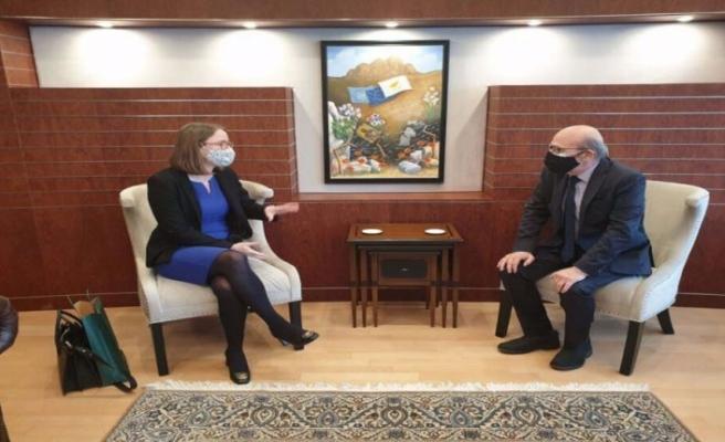 Rum Meclis Başkanı, İrlanda Büyükelçisi ile görüştü