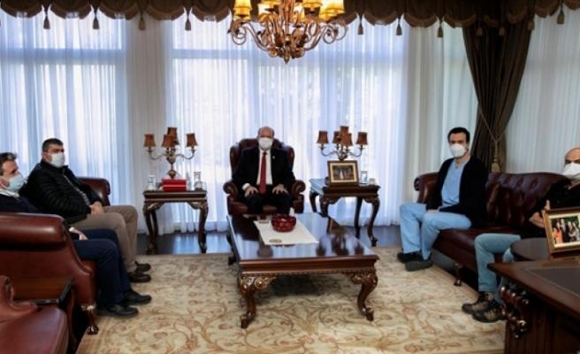 Tatar, Tıp İş heyetini kabul etti