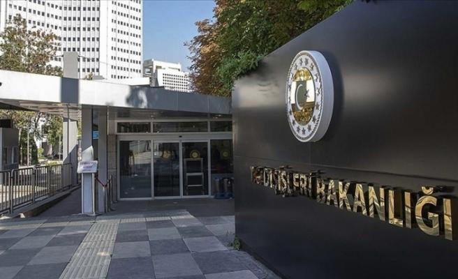 """Türkiye Dışişleri Bakanlığı: """"ABD Büyükelçisi çağırılarak 'en kuvvetli şekilde' tepkimiz dile getirildi"""""""