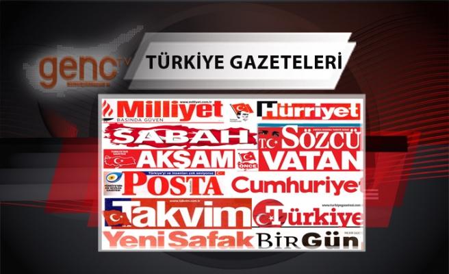 Türkiye  Gazetelerinin Manşetleri - 12 Şubat 2021