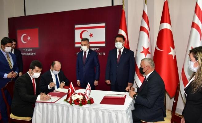Türkiye ile 4 anlaşma imzalandı