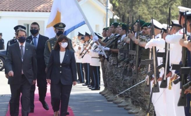"""Anastasiades: """"Mücadelemizi gerçek bağımsız ve özgür bir ülke için veriyoruz"""""""