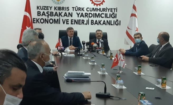 Arıklı, Türkiye Sanayi ve Teknoloji Bakan Yardımcısı Hasan Büyükdede ve ekibi ile bir araya geldi