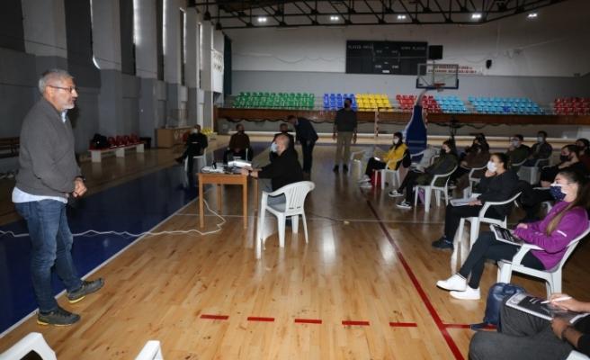 Basketbol Hakem Akademisi, ilk eğitim çalışması yapıldı