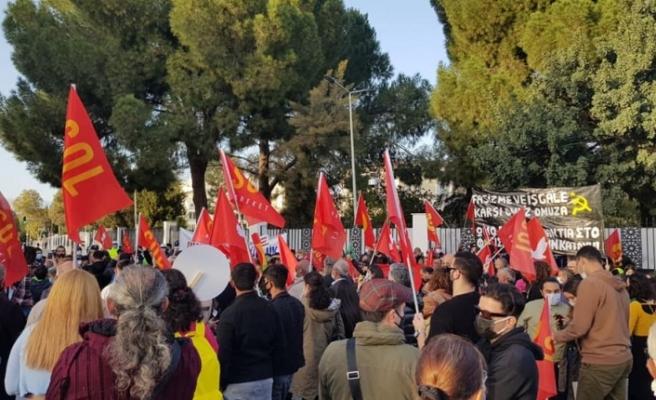 Bazı siyasi parti ve sivil toplum örgütlerinden eylem