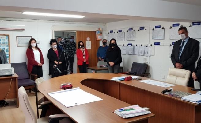 Canaltay, Meteoroloji Dairesi personelinin Meteoroloji Günü'nü kutladı