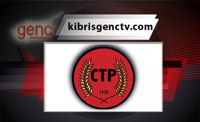 """CTP:  """"İnsanların acısı üzerinden siyaset asla kabul edilemez"""""""