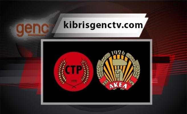 CTP ve AKEL'den ortak açıklama
