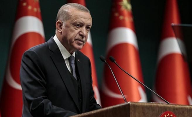 """Erdoğan: """"Ramazan ayı boyunca ülke genelinde hafta sonları sokağa çıkma sınırlaması uygulayacağız"""""""
