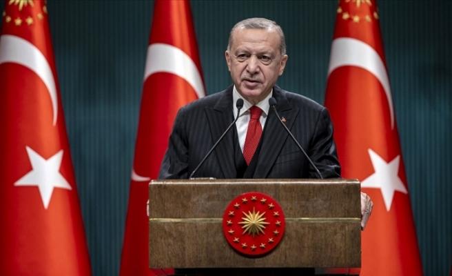 """Erdoğan: """"Yerli aşı çalışmalarımız tamamlandığında aşımızı tüm insanlığın kullanımına sunmayı öngörüyoruz"""""""