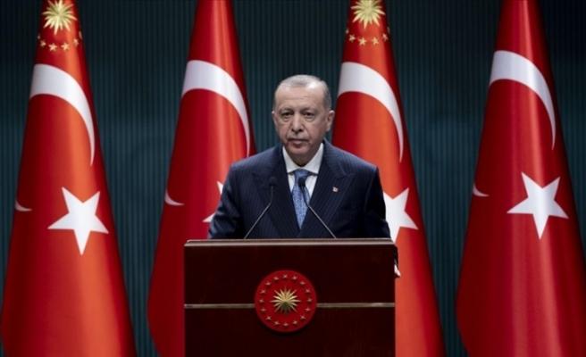 """Erdoğan: """"Yerli aşımız hazır hale gelene kadar yurt dışından aşı tedarikini sürdüreceğiz"""""""