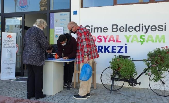 Girne'de ikinci doz aşılama işlemlerine başlandı