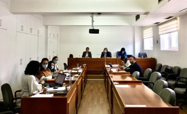 Hukuk Siyasi İşler ve Dış ilişkiler Komitesi toplandı
