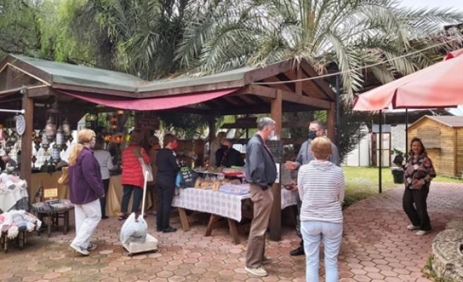 İkinci el ürünlerin satıldığı  Lambousa Market, Cumartesi açık olacak