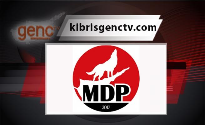 """MDP: """"Yapılan yanlıştan dönün"""""""