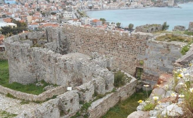 Midilli adası'ndaki kazı çalışmalarında 16. Yüzyıldan kalma osmanlı eserleri bulundu