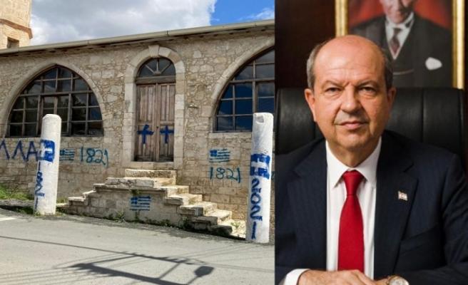 Tatar, camiye yapılan saldırıyı kınadı