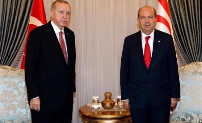Tatar, Erdoğan'ı arayarak kutladı