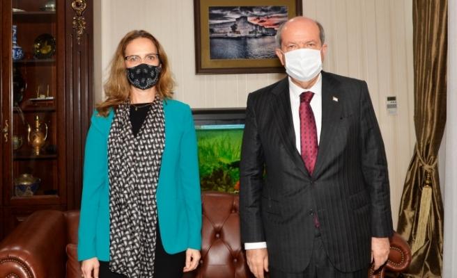 Tatar, Fransa Büyükelçi'ni kabul etti