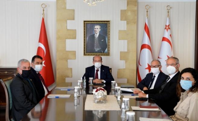 Tatar, siyasi partileri bilgilendirme toplantıları gerçekleştiriyor
