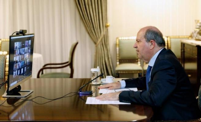 """Tatar: """"Türkiye ile güçlenen ilişkilerimiz, yeni politikamız yatırım iklimimizi de lehimize döndürdü"""""""
