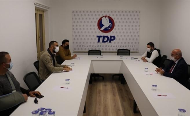 TDP, Güç Sen ile görüştü