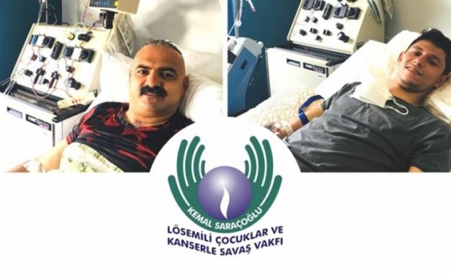 2 gönüllünün verdiği kök hücre 2 hastaya umut oldu