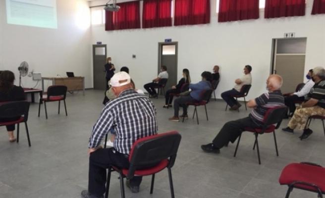 Akdoğan'da bilgilendirme toplantısı