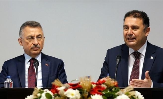 """Başbakan Saner Fuat Oktay'la telefonda görüştü... Saner: """"Protokol kapsamında bütçemize katkı sağlandı"""""""