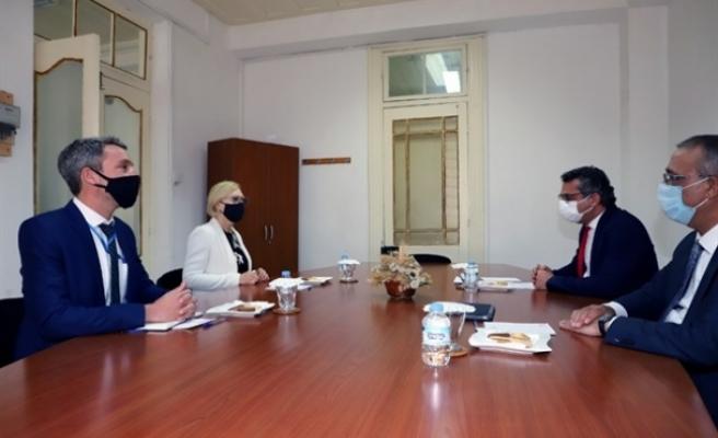 CTP, Spehar ile görüştü, Genel Sekretere mektup iletti