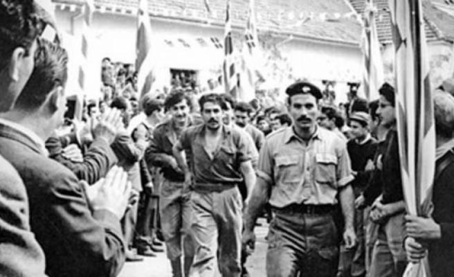Güneyde 1 Nisan EOKA'nın kuruluşunu kutladılar