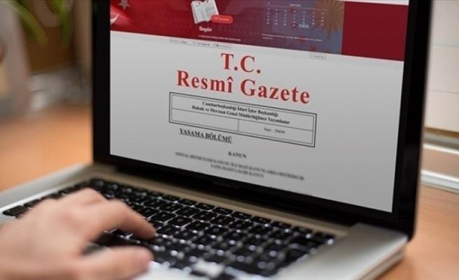 İktisadi ve Mali İşbirliği Anlaşması Türkiye Resmi Gazetede yayınlandı