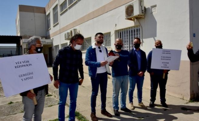 KTÖS'ten Özel Eğitim ve İş Eğitim Merkezi'nde grev