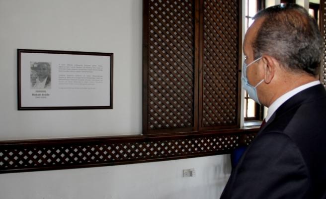 Merhum Hakan Ataöv'ün ismi turizm ve çevre bakanlığı toplantı salonuna verildi