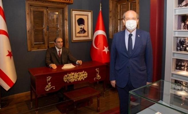 Tatar'dan Türkeş'in doğduğu müze eve ziyaret