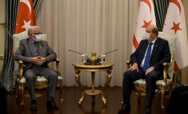 Tatar, Erenköy Mücahitler Derneği heyetini kabul etti