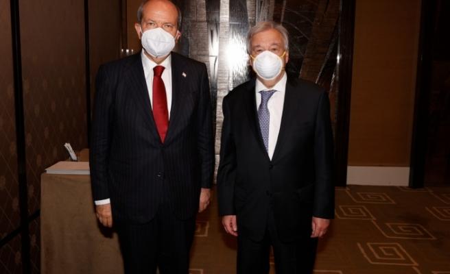 Tatar - Guterres görüşmesine ikişkin açıklama