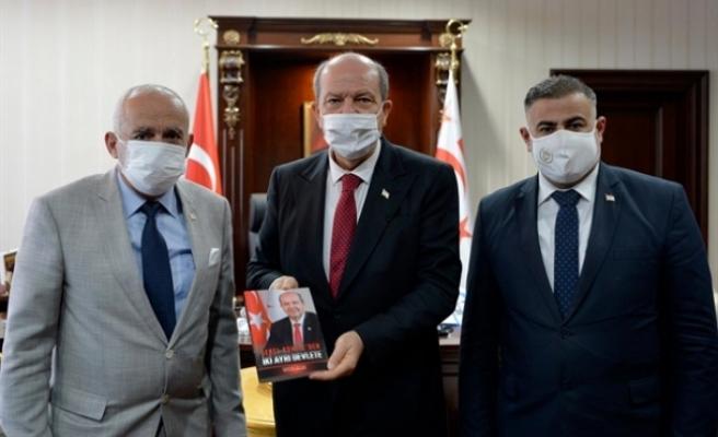 """Tatar'ın kaleme aldığı yeni kitap... """"Genel Komite'den İki Ayrı Devlete"""""""