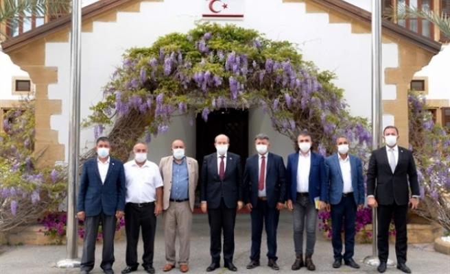 """Tatar: """"Kıbrıs Türkü egemenliğinden ve kendi kendini yönetme hakkından vazgeçemez"""""""