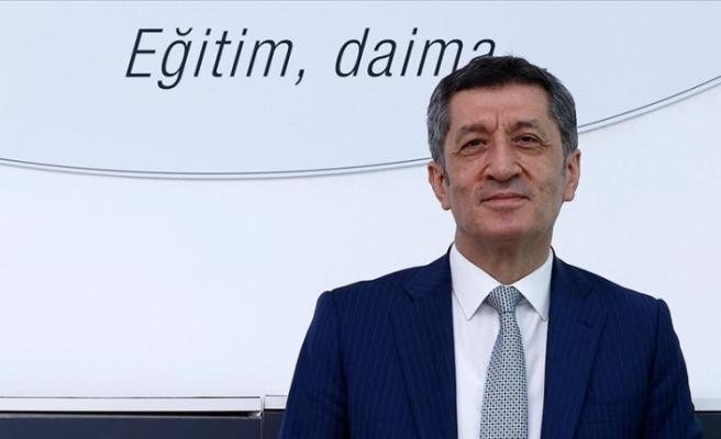 """Türkiye Eğitim Bakanı: """"Yüz yüze eğitime verdiğimiz bu aranın son olmasını yürekten diliyorum"""""""