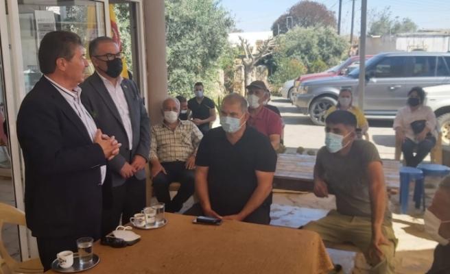 Üstel, Girne Bölgesi'nde sağlıkla ilgili bilgilendirme toplantıları gerçekleştirdi