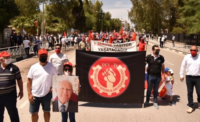 1 Mayıs işçi bayramı yürüyüşü ve ortak mitingi gerçekleşti