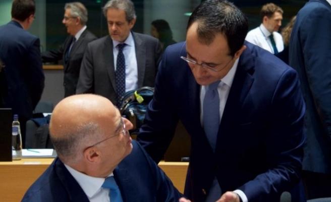 AB'deki muhataplarına Kıbrıs sorunu hakkında bilgi verdi