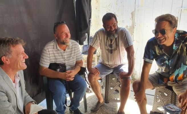 Arıklı'dan dizi setine ziyaret
