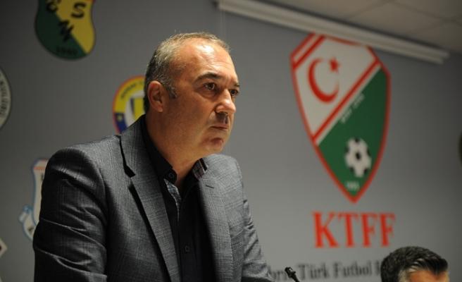 """Başkan Sertoğlu'ndan açıklama: """"KTFF'nin kendi içyapısı vardır"""""""