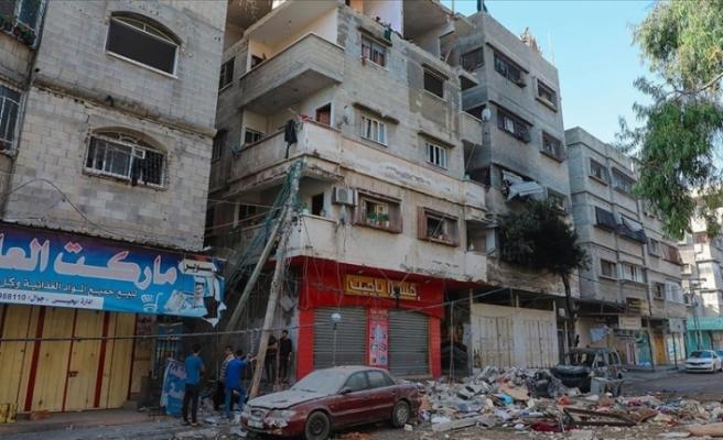 """BM: """"İsrail'in Gazze'ye saldırıları sonucu en az 75 bin Filistinli yerinden edildi"""""""